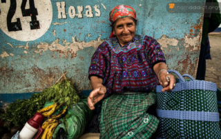 The womane wearing traditional dress in Todos Santos Guatemala - Travel Resolutions